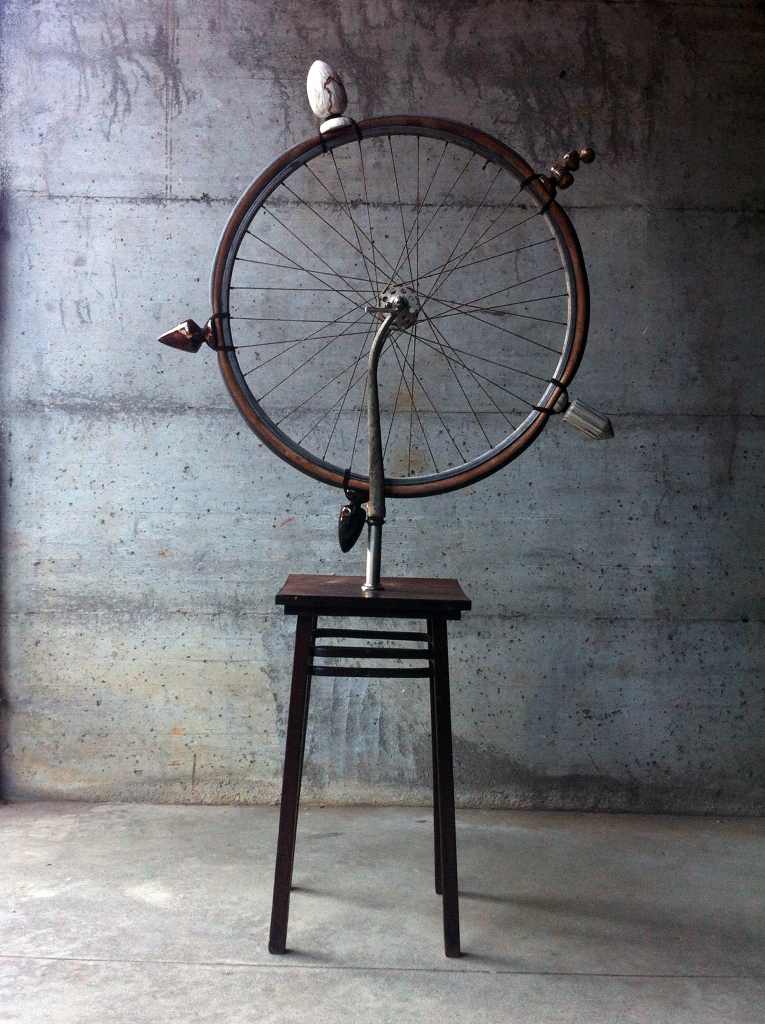 Ruota di bicicletta - Today I want to be dirty